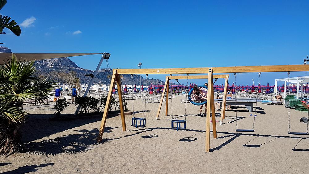 beache of giardini naxos