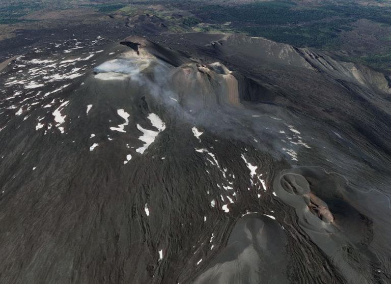 top of etna