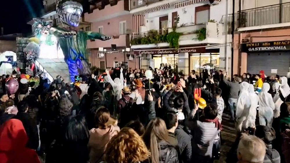 taormina carnival in trappitello