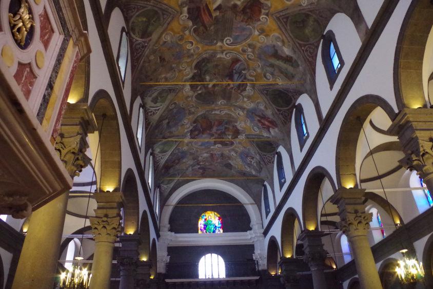 basilica santa maria assunta di randazzo interior