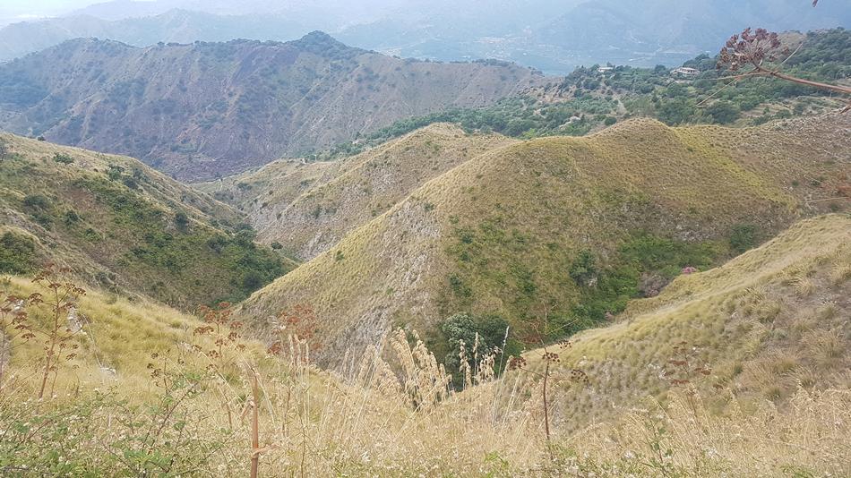 le montagne di taormina