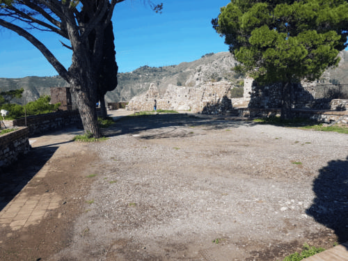 castelmola area sommitale del castello